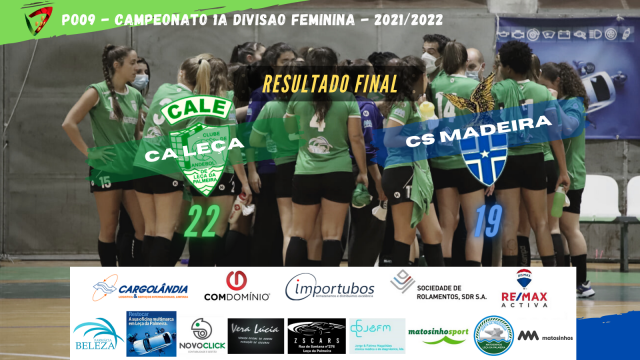 CA Leça vence CS Madeira em Seniores Femininos