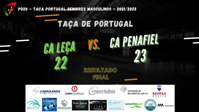 CALE afastado da Taça de Portugal em Seniores Masculinos